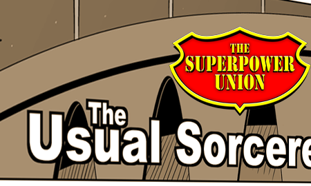 New Superpower Union Webcomic!